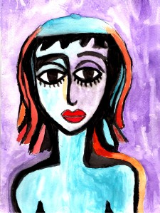 Girl With Beret