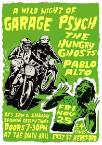 Psych Gig Poster