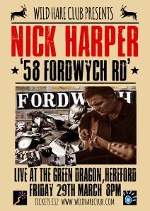 Nick Harper Poster A3